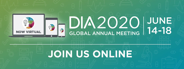 Looking Forward to the DIA 2020 Annual Meeting